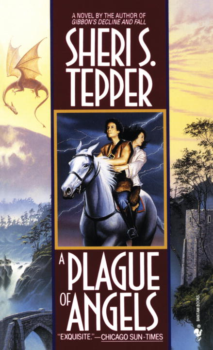 A Plague of Angels By Tepper, Sheri S.
